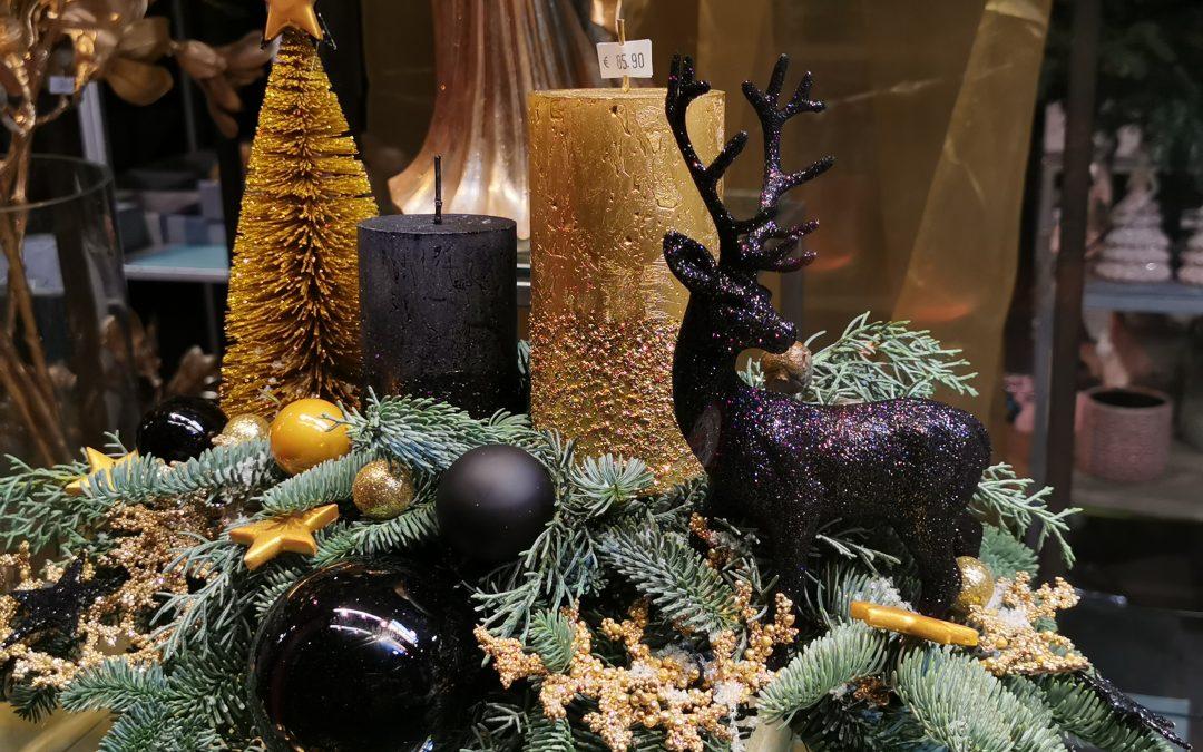 Neue weihnachtliche Kreationen unserer Floristen